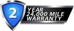 Two Year 24,000 Mile Warranty